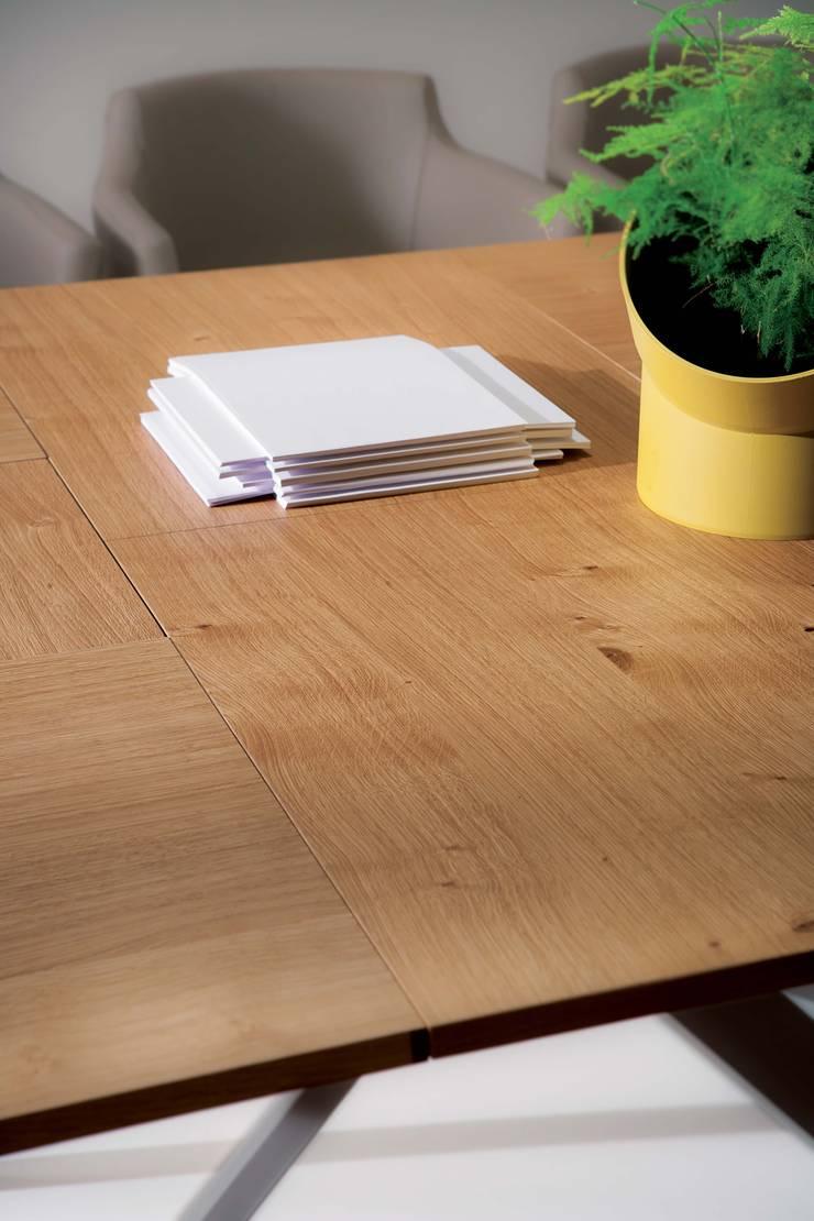 桌面細節:  餐廳 by Hefeng furniture