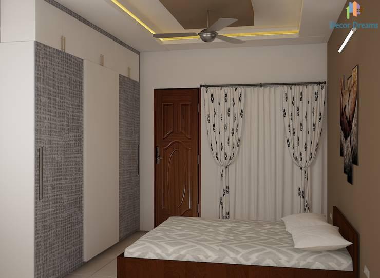 Ahad Euphoria, 2 BHK—Mr. Krishna:  Bedroom by DECOR DREAMS,Modern