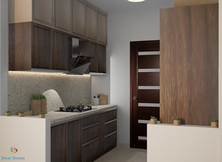 TOE TREE APPARTMENTS:  Built-in kitchens by DECOR DREAMS