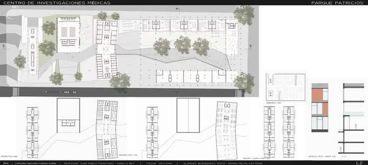Proyecto 4 año: Polo Tecnologico:  de estilo  por Aifos Ansub
