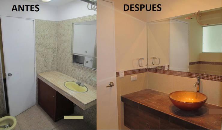 Remodelación Benavides 586:  de estilo  por A&V Construcciones