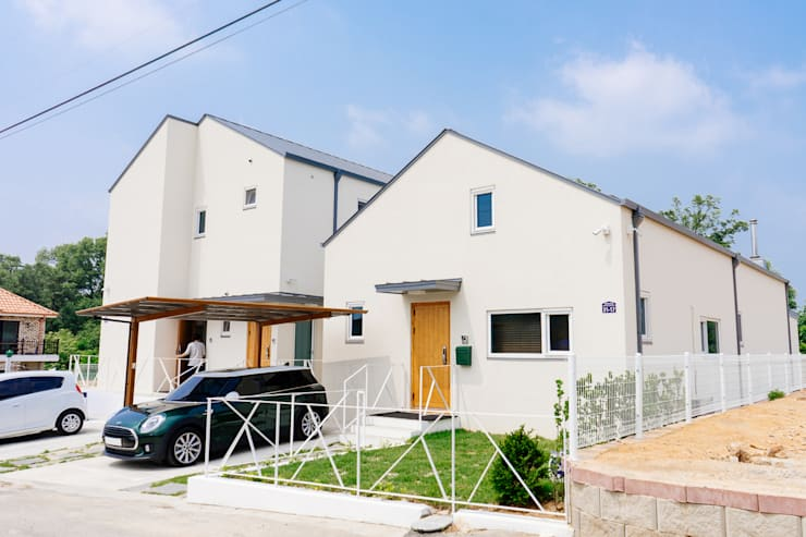 本[bon].집1: AAPA건축사사무소의  일세대용 주택,모던