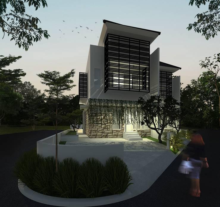House 2:  Rumah keluarga besar by SEKALA Studio