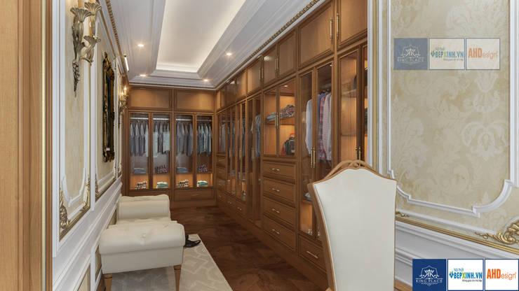 Nội thất phòng ngủ master tân cổ điển, Mrs.Thắm – Thanh Hóa:  Nursery/kid's room by Công ty TNHH thiết kế nội thất KingPlace