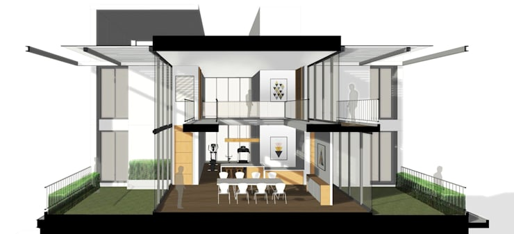 Homeoffice:   by Taar Architect