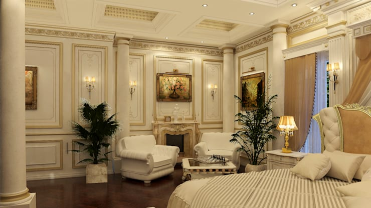 Villa Mrs. Nabila :  Bedroom by Rêny