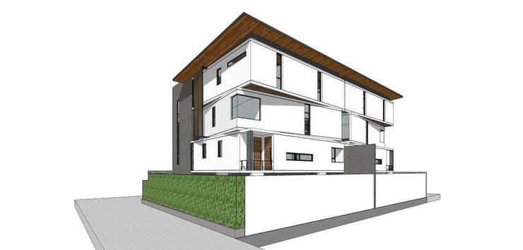 บ้านพระราม9:   by KTJ+d Architects