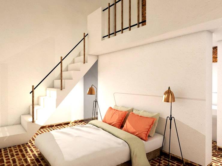 mediterranean Bedroom by Grupo Norma
