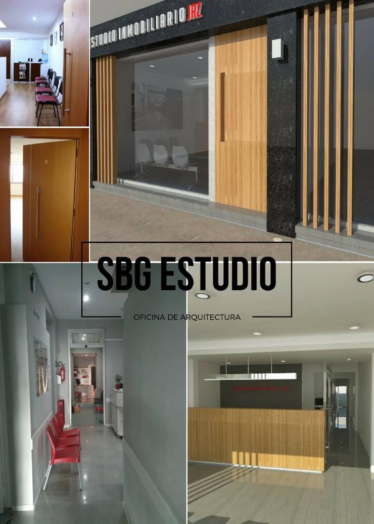 Arquitectura comercial: Oficinas y Tiendas de estilo  por SBG Estudio