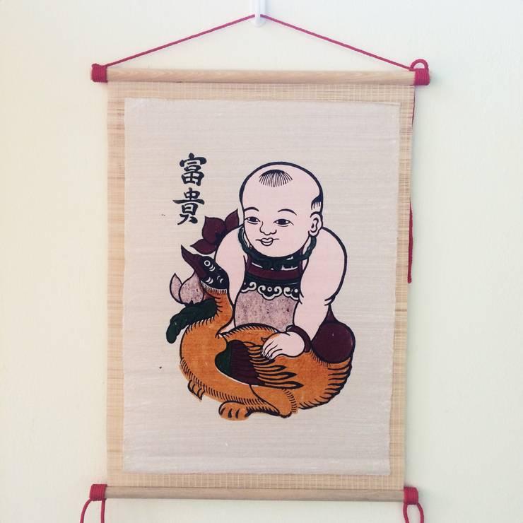 Phu quy:   by Tranh Đông Hồ
