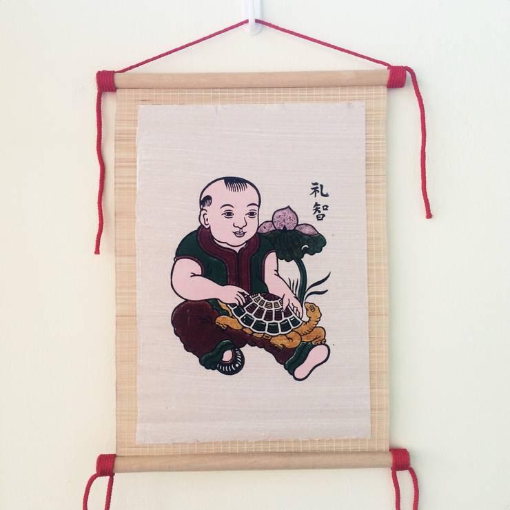 Le tri:   by Tranh Đông Hồ