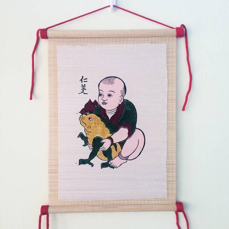 Nhan nghia:   by Tranh Đông Hồ