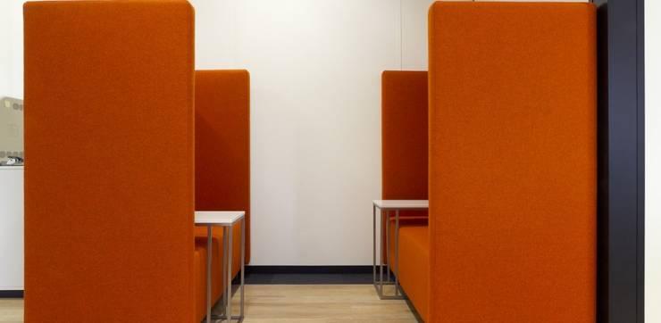 Coupébanken:  Kantoor- & winkelruimten door Studio Nor, Modern