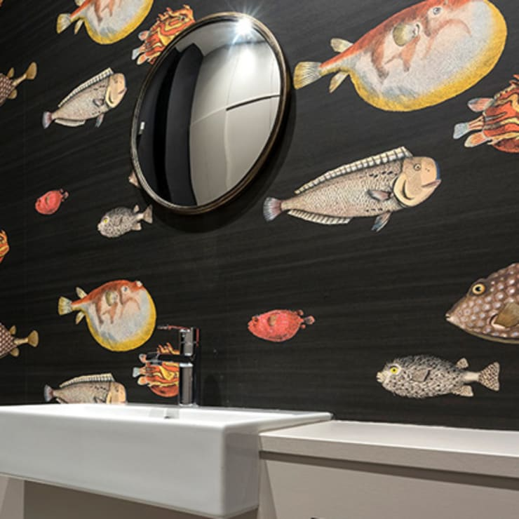 Victorian Conversion Salle de bain minimaliste par Corebuild Ltd Minimaliste