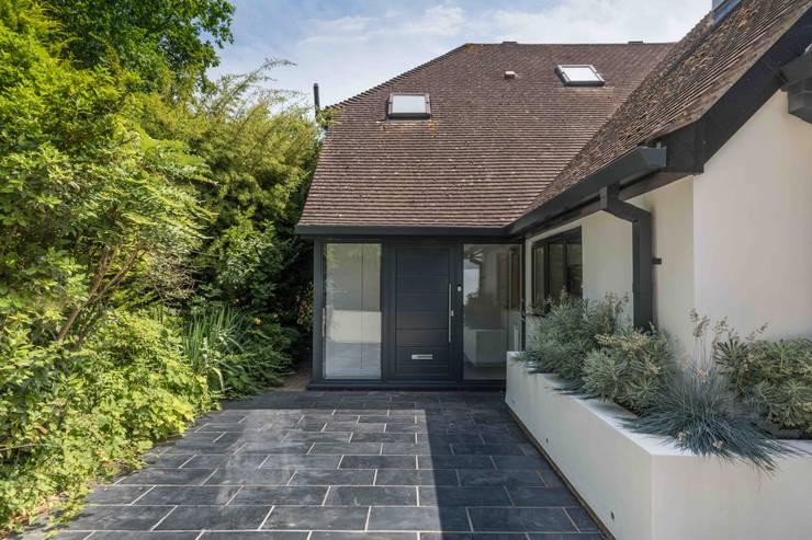 Projekty,  Dom jednorodzinny zaprojektowane przez LA Hally Architect