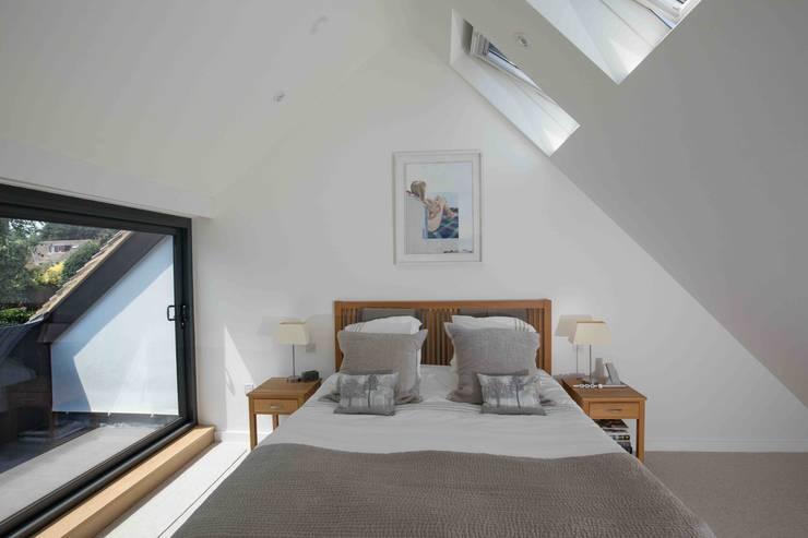 Projekty,  Sypialnia zaprojektowane przez LA Hally Architect