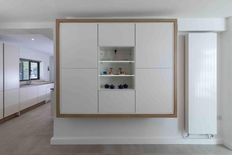 Projekty,  Kuchnia na wymiar zaprojektowane przez LA Hally Architect