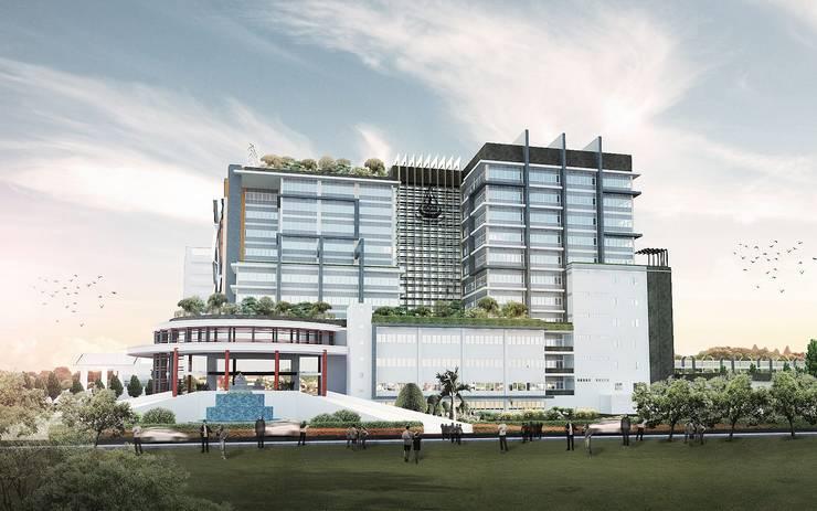 อาคารผู้ป่วยนอกและอำนวยการ โรงพยาบาลมหาวิทยาลัยเทคโนโลยีสุรนารี สำนักวิชาแพทยศาสตร์ มหาวิทยาลัยเทคโนโลยีสุรนารี:   by HEAD DESIGN