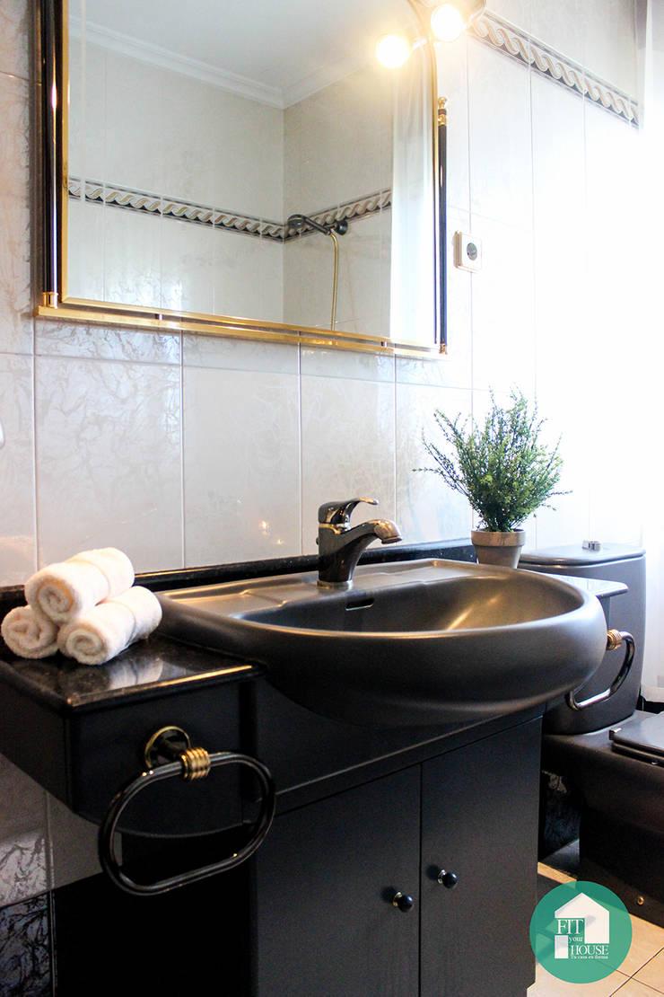 Baño después del Home Staging:  de estilo  por Fityourhouse AD & Home Staging