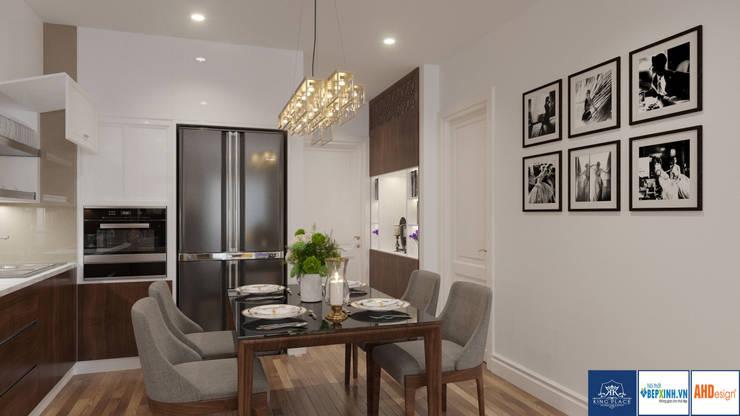 Thiết Kế Phòng Khách-Bếp:  Dressing room by Công ty TNHH thiết kế nội thất KingPlace