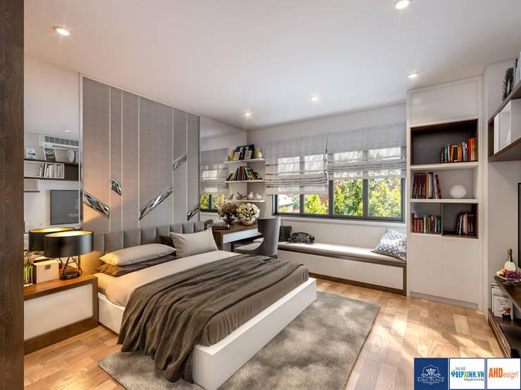 Thiết kế phòng ngủ master:  Household by Công ty TNHH thiết kế nội thất KingPlace