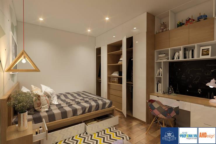 Thiết kế phòng ngủ con:  Nursery/kid's room by Công ty TNHH thiết kế nội thất KingPlace