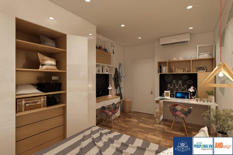 Thiết kế phòng ngủ con:  Dressing room by Công ty TNHH thiết kế nội thất KingPlace