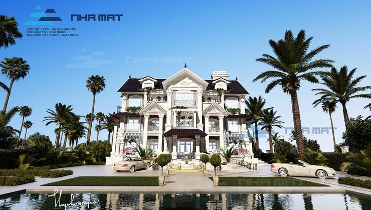 Biệt thự Tân cổ điển – Nam Định:   by Kiến trúc Nhà Mát