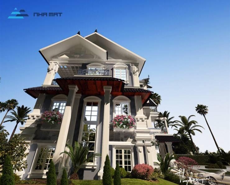 de style  par Công ty CP Kiến trúc và Xây dựng Nhà Mát