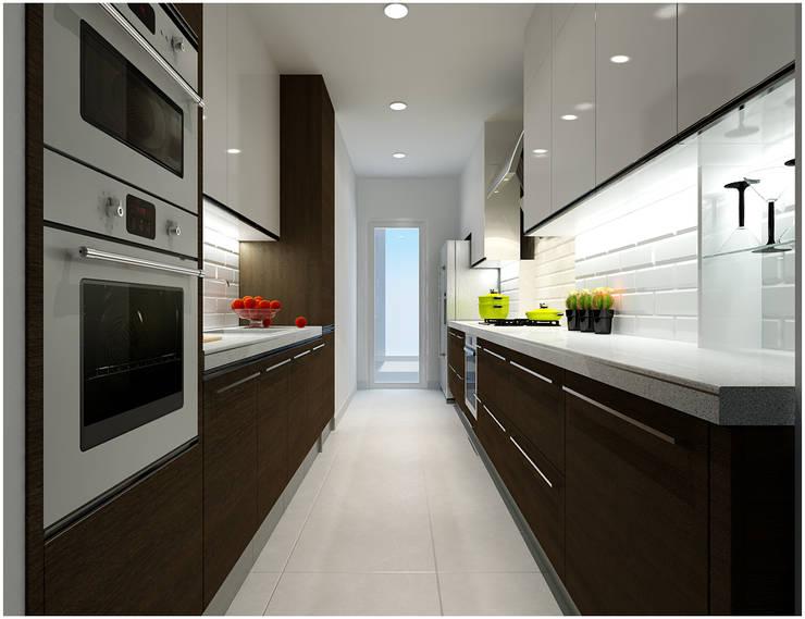 Cocinas de estilo  por Công ty TNHH TMDV Decor KT