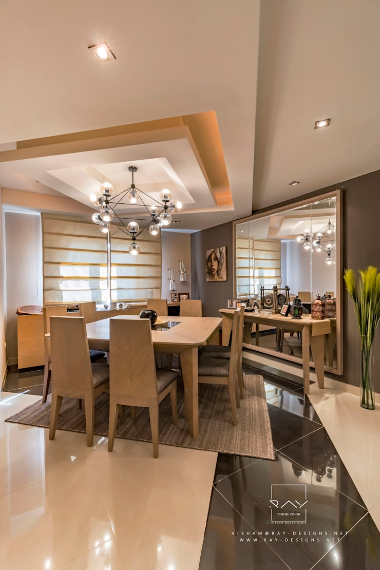 Dining room by RayDesigns, Modern