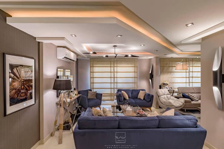 Living room by RayDesigns, Modern