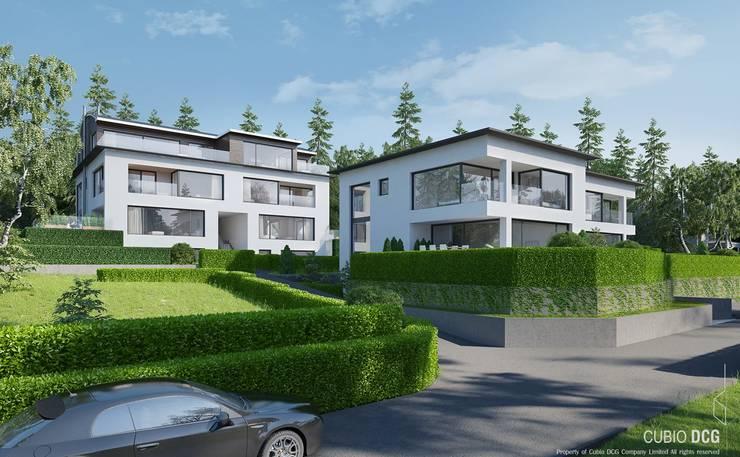 House in Switzerland:   by W Design Studio Bangkok