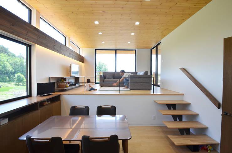 غرفة السفرة تنفيذ 鎌田建築設計室