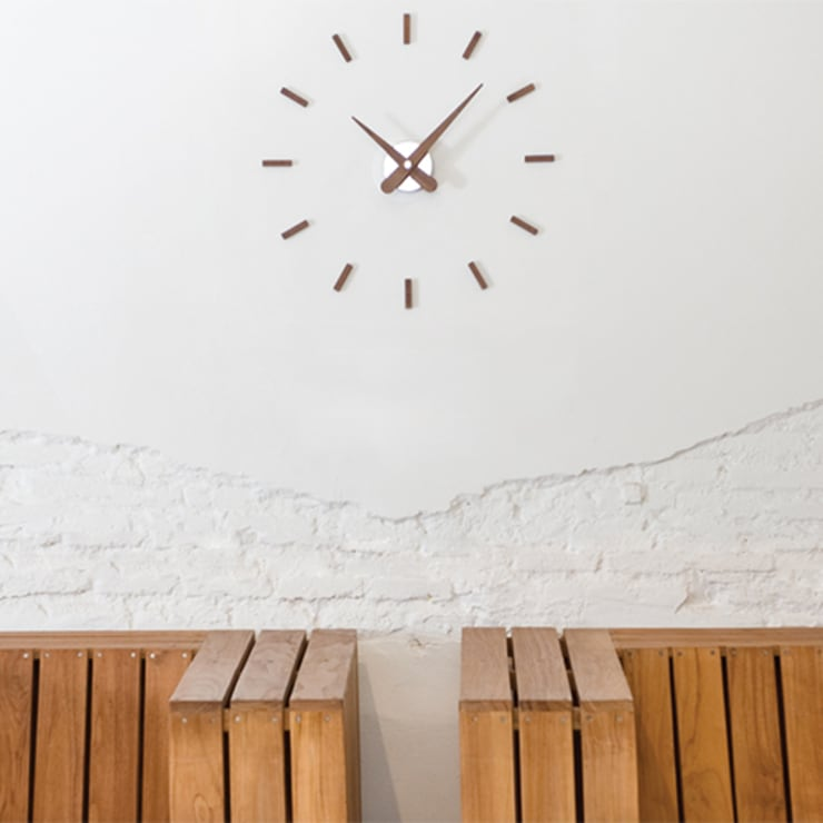 Nomon Sunset Clock: modern  by Just For Clocks,Modern Metal