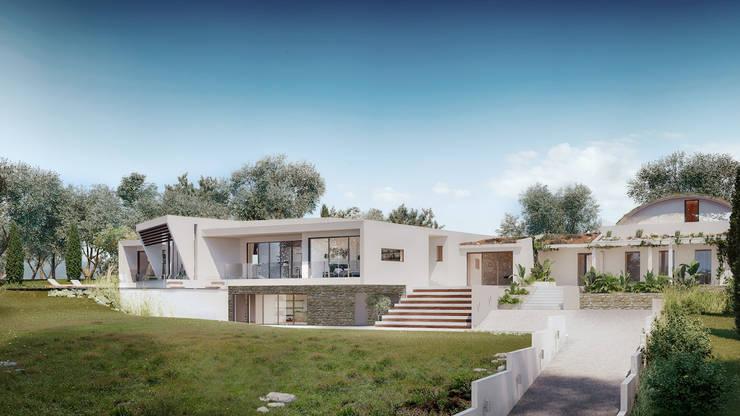 Casa Zen: Casas de campo  por CORE Architects