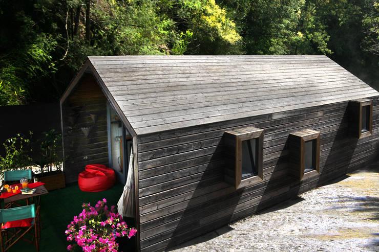 RUSTICASA | Lodge | Ponte de Lima: Casas de madeira  por Rusticasa