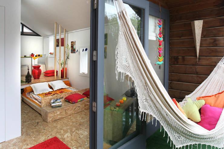 Projekty,  Sypialnia zaprojektowane przez Rusticasa