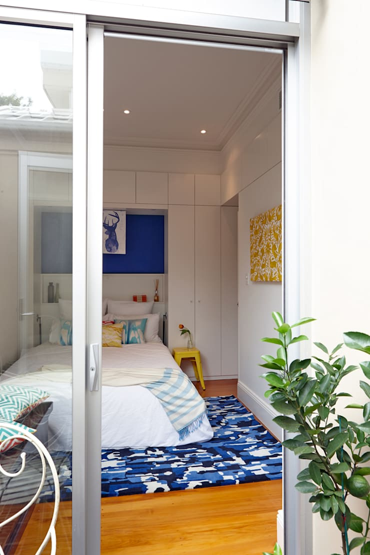 Second Bedroom gets a bright makeover :  Bedroom by Atelier Lane | Interior Design