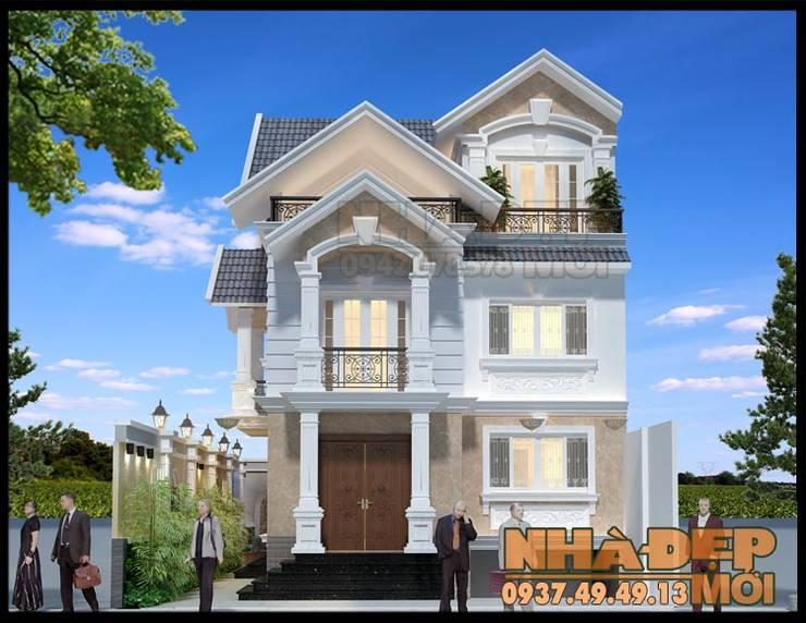 Kiến trúc sang trọng và tinh tế:  Biệt thự by Công ty TNHH TKXD Nhà Đẹp Mới