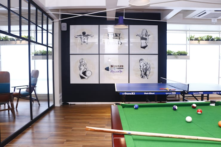 GAME ZONE- WALL ART by DESIGNER'S CIRCLE Modern