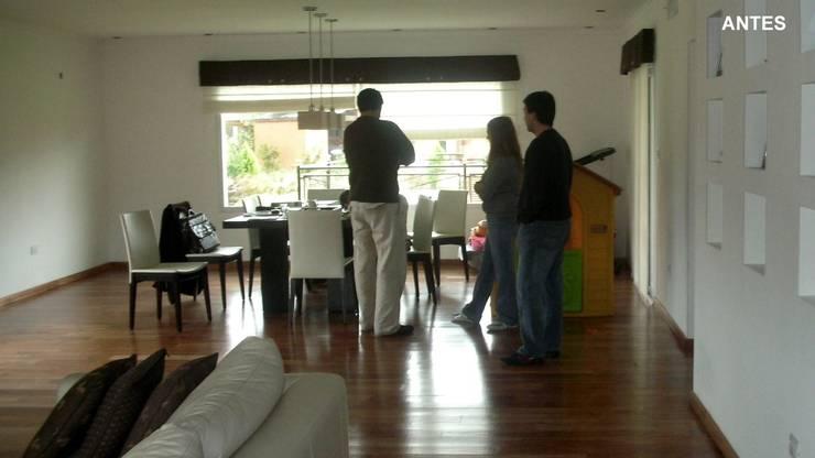 Proyecto de diseño interior de living comedor von Fernan Etcheverry ...