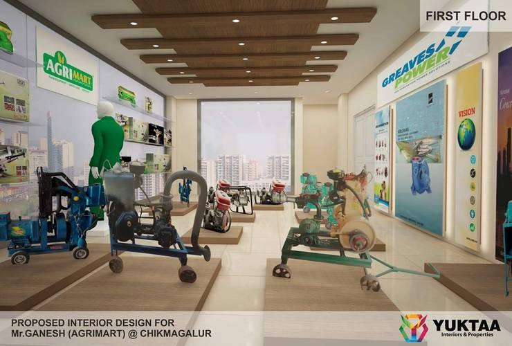 Residential Interiors:  Nursery/kid's room by YUKTAME,Modern