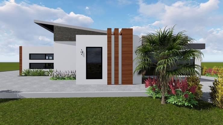 Birchliegh Kempton Park :  Single family home by Blackstructure Architects