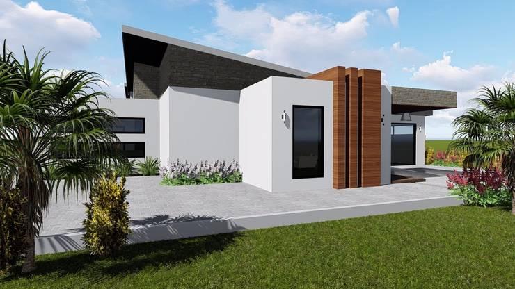 Birchliegh Kempton Park :  Houses by Blackstructure Architects