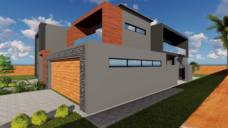 Midrand Upgrade:  Houses by BlackStructure