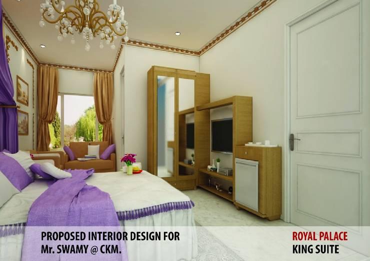 Residential Interiors:  Living room by YUKTAME