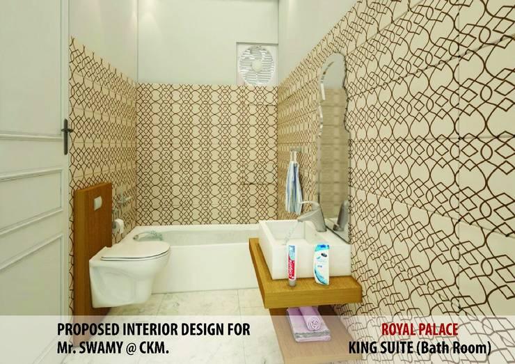 Residential Interiors:  Bathroom by YUKTAME