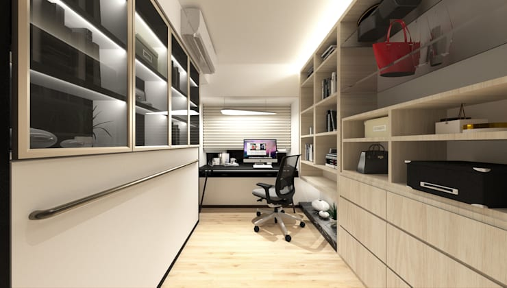 Sorrento Tower:  Study/office by Artta Concept Studio