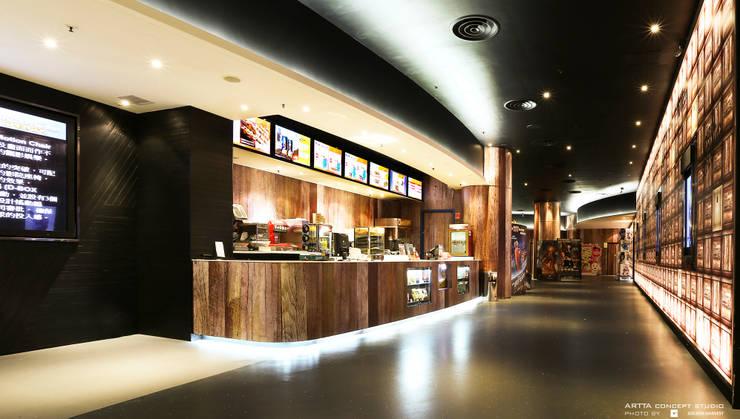 Golden Harvest Tsing Yi:  Commercial Spaces by Artta Concept Studio, Modern